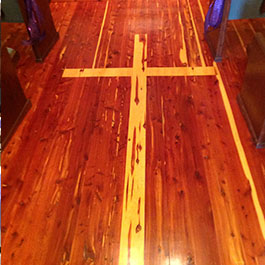 Chapel Wooden Floor